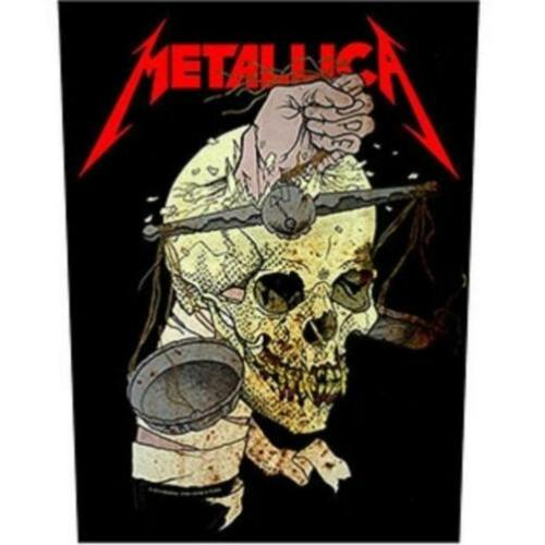 Metallica backpatch bp178 patch nieuw 30x26x36 back patch