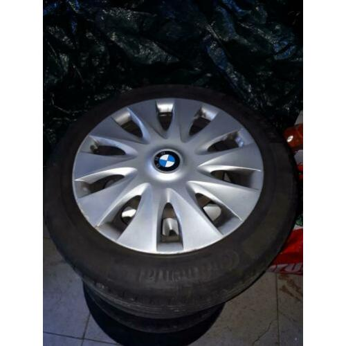 Topbanden BMW 1 serie complete set 16 inch continental!