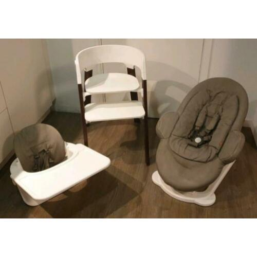Stokke steps + baby set en bouncer