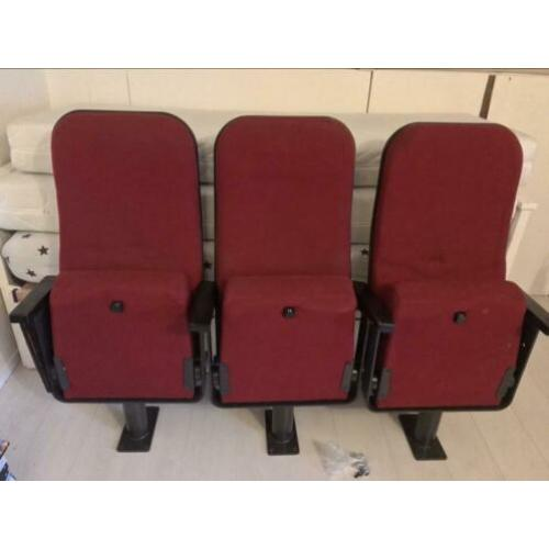 3 bios/theater stoelen