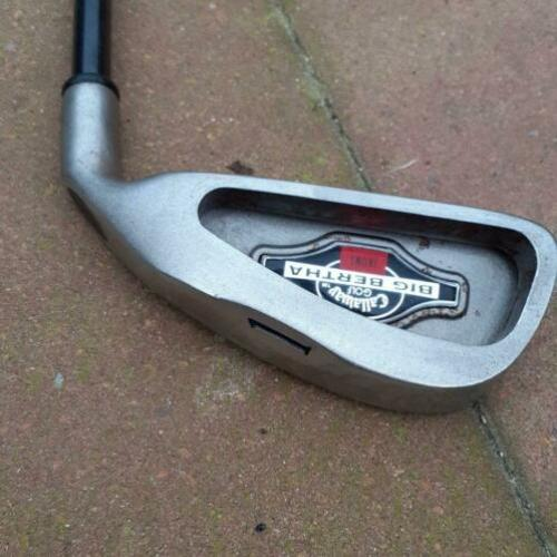 Callaway ijzer 1 graphite regular flex Big Bertha
