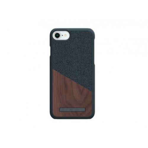 Nordic Elements iPhone 6(s)/7/8 Hoes - Dark Grey / Walnut