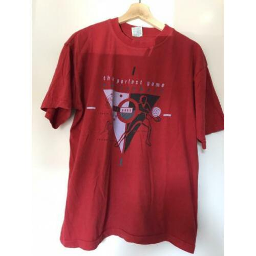 Topvintage volleybal retro T shirt