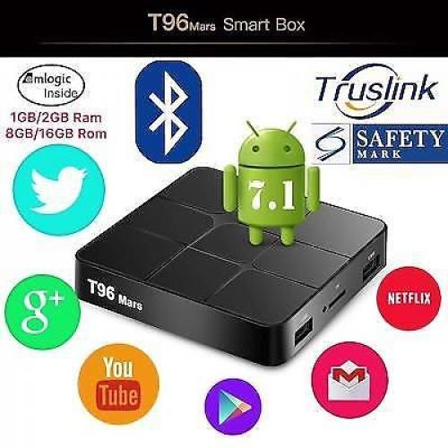 T96 Mars media player - 2/16 GB - KODI & meer - IPTV - NL